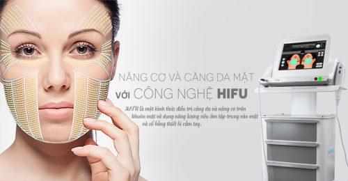 Trẻ hóa da nâng cơ mặt bằng công nghệ Hifu 5